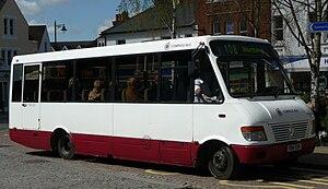 Compass Travel - Autobus Classique bodied Mercedes-Benz Vario in Horsham in April 2009