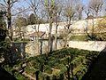 Compiègne (60), jardin des Remparts, impasse des Fossés et rue des Fossés.jpg