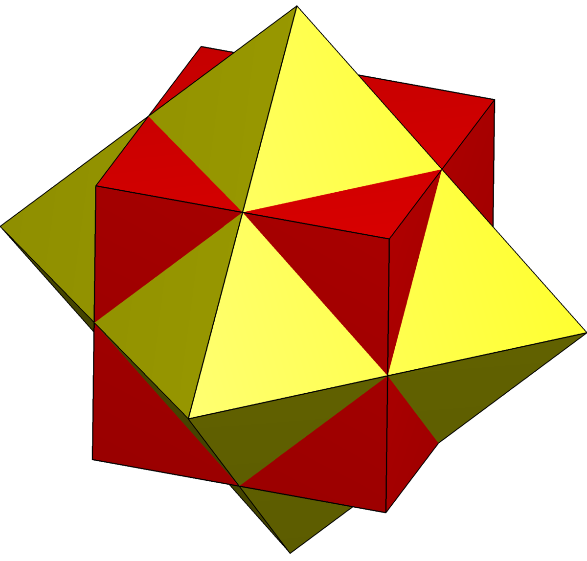Compound Of Cube And Octahedron Wikipedia