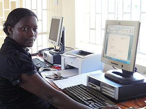 Education in Uganda - Ugandan Schools and Workplace training incorporate computer skills