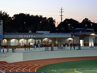 Grand Rapids Christian High School - Concession area at Eagles Stadium