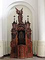 Confessional in the Saint Francis church in Warsaw - 02.jpg