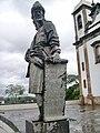 Congonhas MG Brasil - Profeta Joel em pedra sabão, esculpida por Aleijadinho - panoramio.jpg