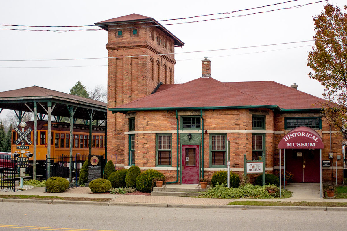 National Railroad Museum >> Grand Rapids, Grand Haven and Muskegon Railway Depot ...