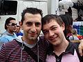 Coppia al Gay Pride di Milano 2008 1 - Foto Giovanni Dall'Orto, 7-June-2008.jpg