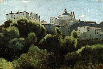 Ariccia - Image: Corot Ariccia Palazzo Chigi