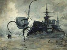 La guerra dei mondi (illustrazione di Henrique Alvim Correa).