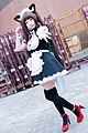 Cosplayer of Chocola, Nekopara at FF29 20170212d.jpg