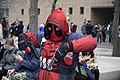 Cosplayer of Deadpool, the X-Men at CH1 20160220c.jpg