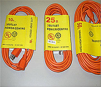 Certification mark - Counterfeit electrical cords with false UL certification marks
