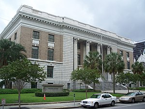 United States Courthouse Building and Downtown Postal Station (Tampa, Florida) - Image: Courthouse Post Office Tampa 01