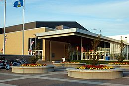 Credit Union Place entrance 2009.JPG
