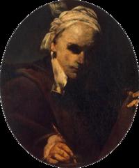 Crespi, Giuseppe Maria -- Self-Portrait - c. 1700-transparent.png