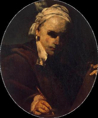 Giuseppe Crespi - Self-Portrait c.1700