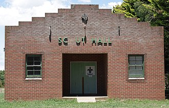 Crookwell, New South Wales - Image: Crookwell Scout Hall