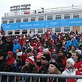 Crowd at 2010 Winter Olympics Snowboard Cross 2010-02-15.JPG