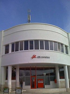 CTT Correios de Portugal, S.A. - Image: Ctt santarém