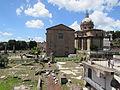 Curia Julia si Biserica Santi Luca e Martina din Roma.jpg