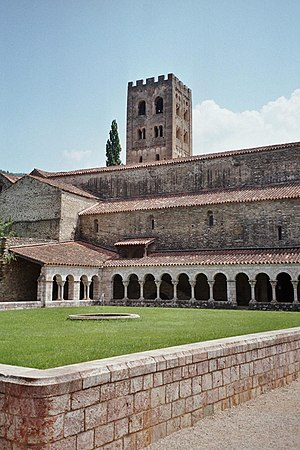 Abbey of Saint-Michel-de-Cuxa - Cloister