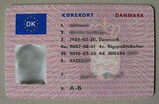 Danmark License