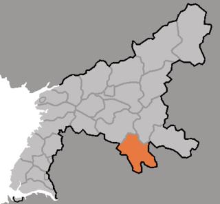 Hoechang County County in South Pyŏngan, North Korea