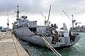 DUBV 43C towed array sonar, French frigate Montcalm (D642).jpg