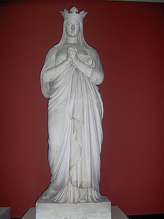 Dagmar of Bohemia - Statue of Dagmar of Bohemia by Herman Wilhelm Bissen