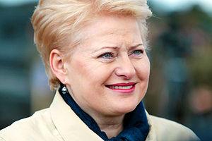 Dalia Grybauskaitė - Image: Dalia Grybauskaite 2014 by Augustas Didzgalvis