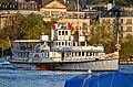 Dampfschiff Stadt Rapperswil - General-Guisan-Quai 2014-09-07 19-00-36.JPG