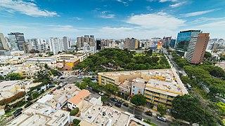 Miraflores District, Lima District in Lima, Peru