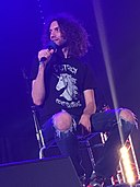 Dan Avidan at the Hammersmith Apollo in London - October 2017.jpg