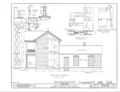 Dan W. Jones House, Washington, Hempstead County, AR HABS ARK,29-WASH,5- (sheet 4 of 7).png