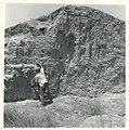 Dan Yaalon describing a loess profile in the Negev, 1960s.jpg