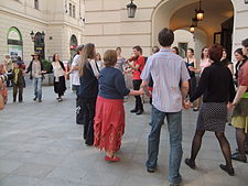 Dance Day 2011-04-29 Prague – front of the Estates Theatre.jpg