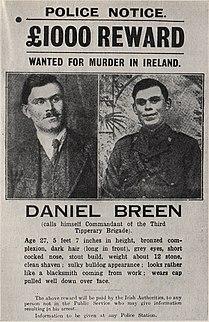 Dan Breen Irish politician