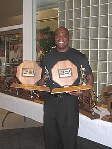 Danny Harris, Iowa State Track and Field Reunion, 2008.jpg