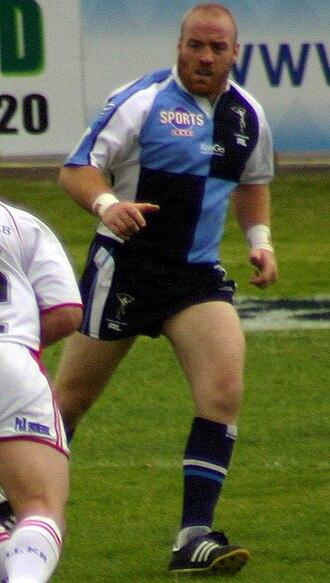 Danny Ward - Ward in action for Harlequins