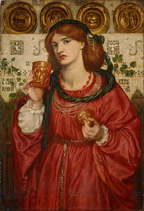 ROSSETTI Dante Gabriel The loving cup 1867