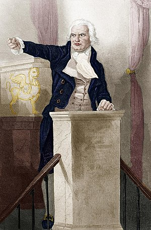 Georges Danton - Danton addressing the National Convention.
