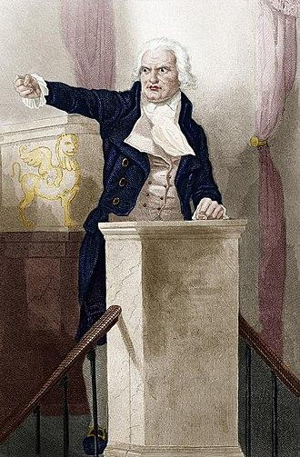 Georges Danton - Danton addressing the National Convention.