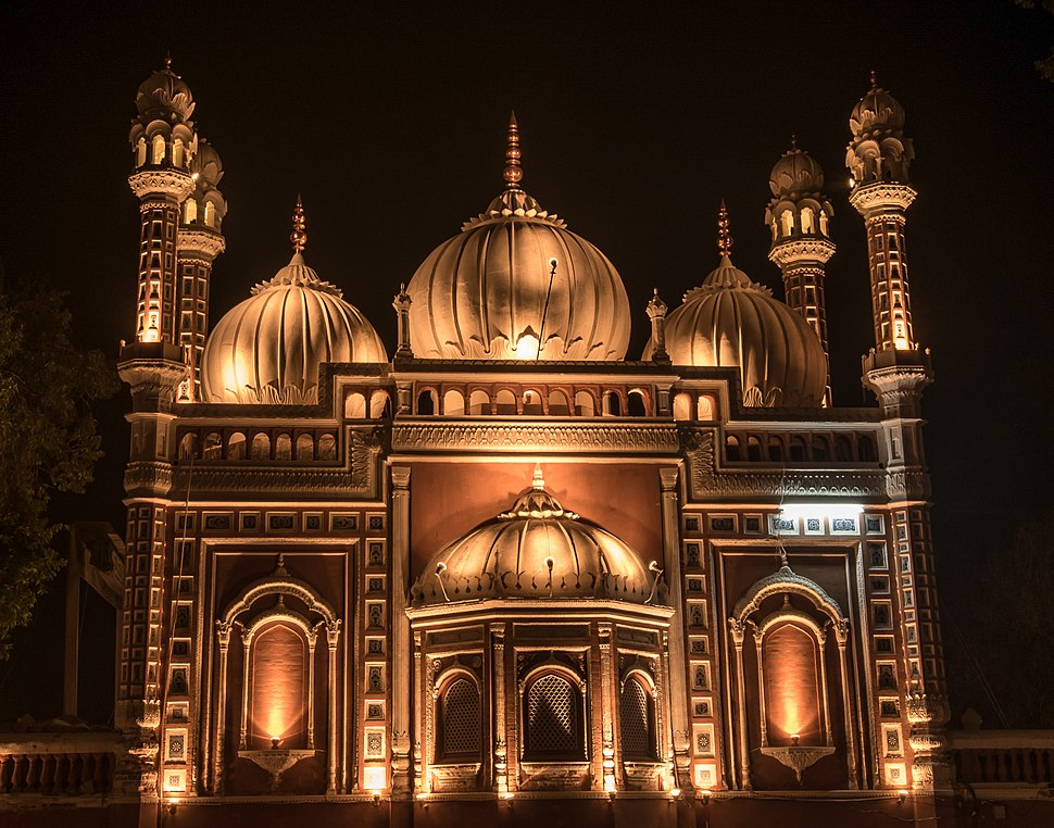 Darbar Mahal Mosque by Moiz