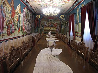 Agia Triada Monastery, Sparmos - The refectory