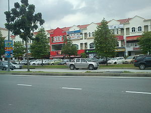 Petaling Jaya - The Dataran Sunway commercial hub in Kota Damansara, Petaling Jaya