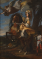 Dauphin, circle of - Christine of France as Minerva - Venaria Reale.png