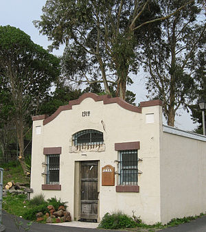 Davenport, California - Historic Davenport jail, now a museum