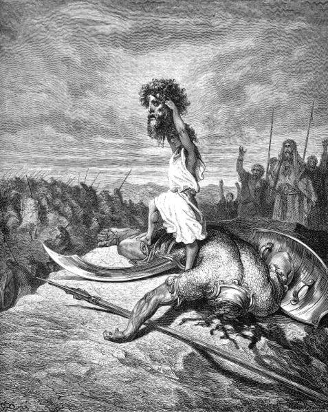 David came before al-Qaeda when it came to beheadings for terrors purpose.