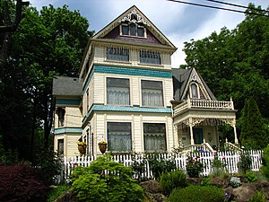 National Register of Historic Places listings in North Portland, Oregon - Image: David Cole House Portland Oregon