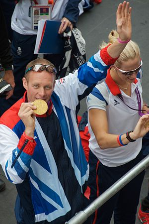 David Smith (rower) - David Smith with Naomi Riches