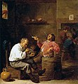 David Teniers (II) - Smokers in an Interior - WGA22081.jpg