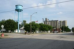 De Land Illinois Water Tower Post Office and Grain Elevator.jpg